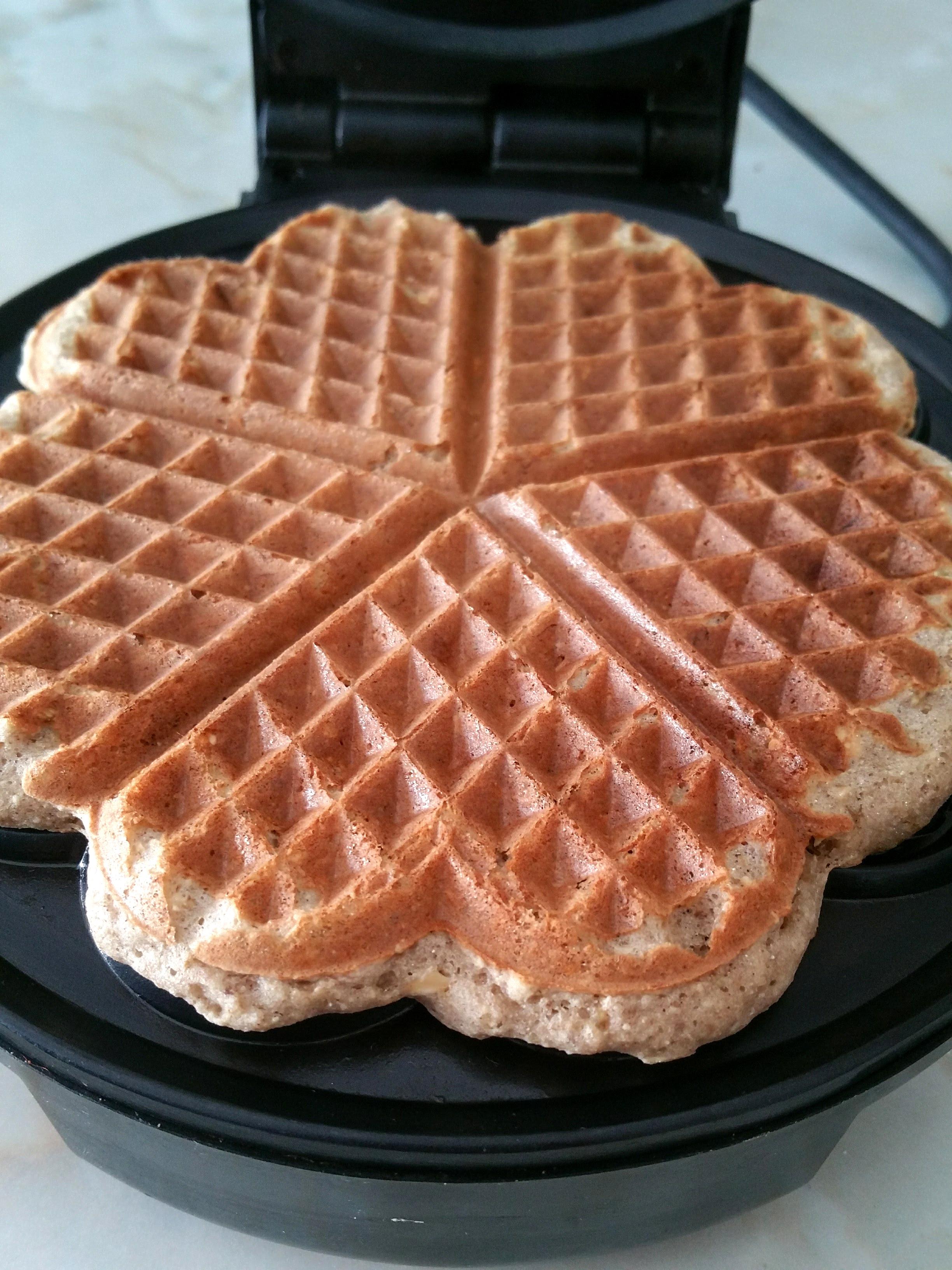 Healthy buckwheat waffles - Open Sauce