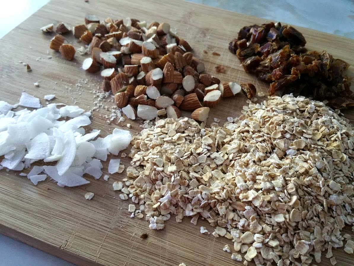 Healthy vegan muesli - Open Sauce